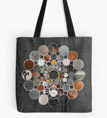 Rustic Geometry II Urban Lodge Mandala Tote Bag