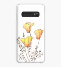 California Poppy Case/Skin for Samsung Galaxy