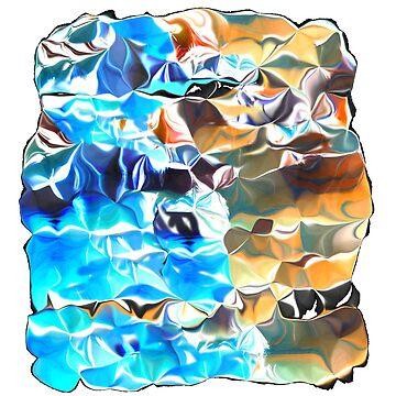 Blue and Orange Weirdness by TangerineKiki
