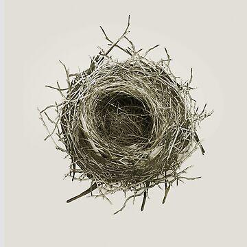 """""""Birds Nest no.1"""" Artwork and shirt design by Egan316"""