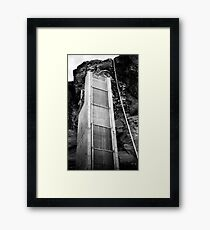 Concrete Tower 2 Framed Print