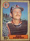 075 - Rick Dempsey by Foob's Baseball Cards