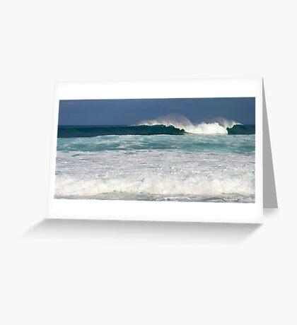 Wave in Hawaii Greeting Card
