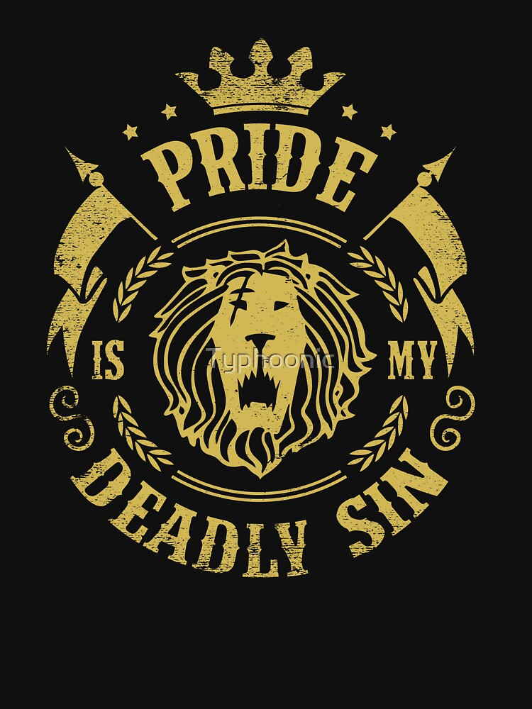 Pride is my deadly sin by Typhoonic