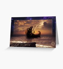 A Ship for All Destinations Greeting Card