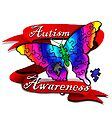 Autism Awareness Butterfly Design by EverIris