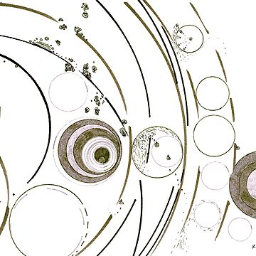 Planetary nursery - ink on paper by rvalluzzi