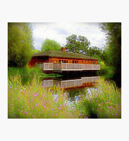 Cricket Club Reflections Photographic Print