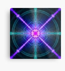 Abstract Pattern Art Metal Print