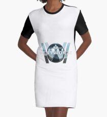 WestWorld Graphic T-Shirt Dress