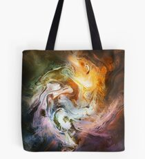 Fluid Movement Abstract Art Tote Bag