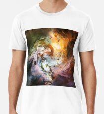 Fluid Movement Abstract Art Men's Premium T-Shirt