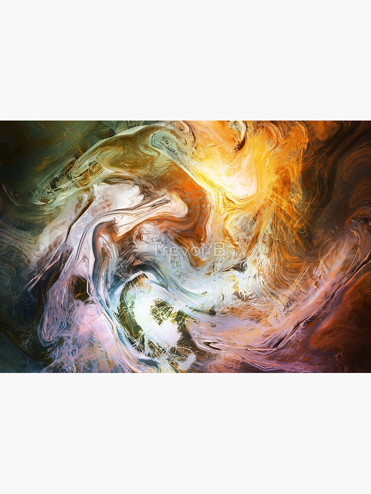Fluid Movement Abstract Art by CreativeBytes