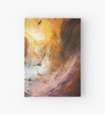 Fluid Movement Abstract Art Hardcover Journal