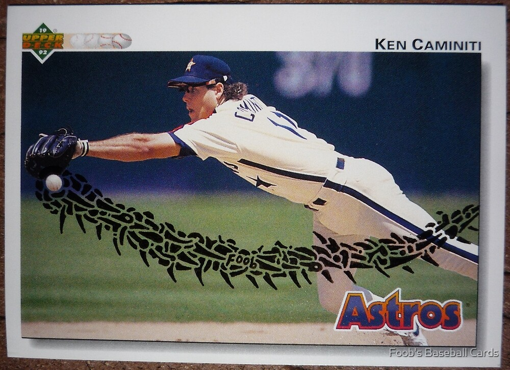 085 - Ken Caminiti by Foob's Baseball Cards