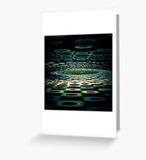 Into the Grid Greeting Card