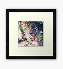 Fragmented Abstract Artwork Framed Print