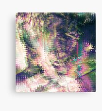 Fragmented Abstract Artwork Canvas Print
