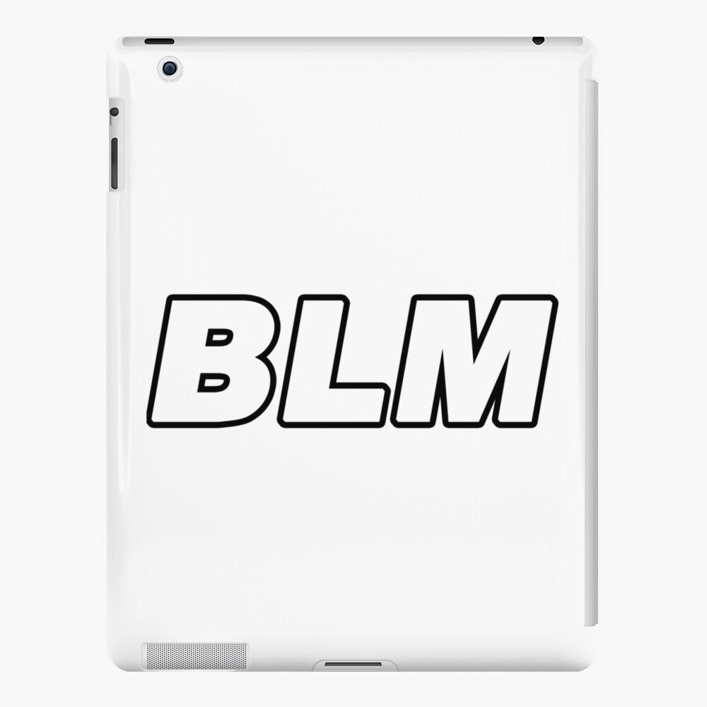 BLM Funda y vinilo para iPad