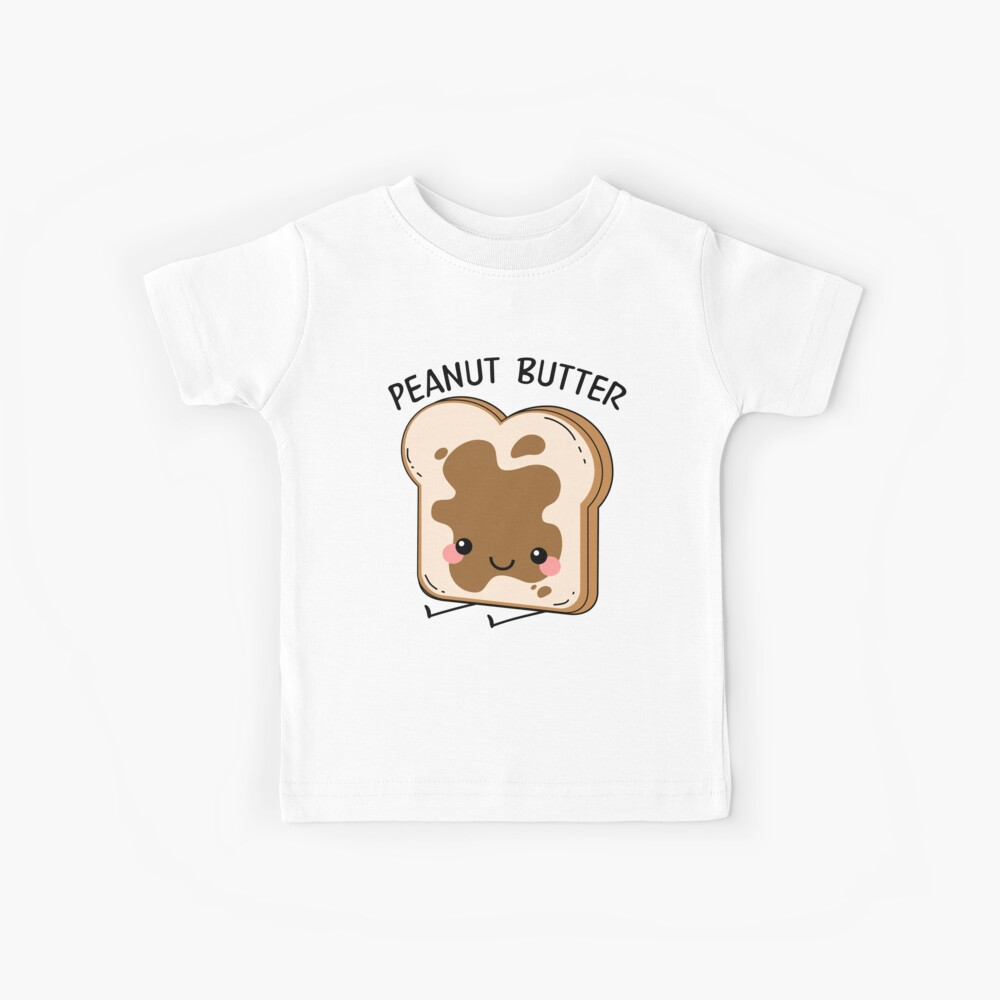 Peanut Butter And Jelly Matching Couple Kids T-Shirt