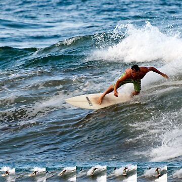 Backhand cutback with sequence - Dee Why Point by scatrdjason