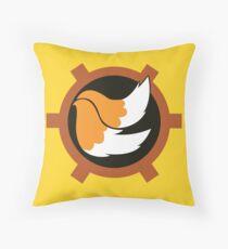Tails Logo Throw Pillow