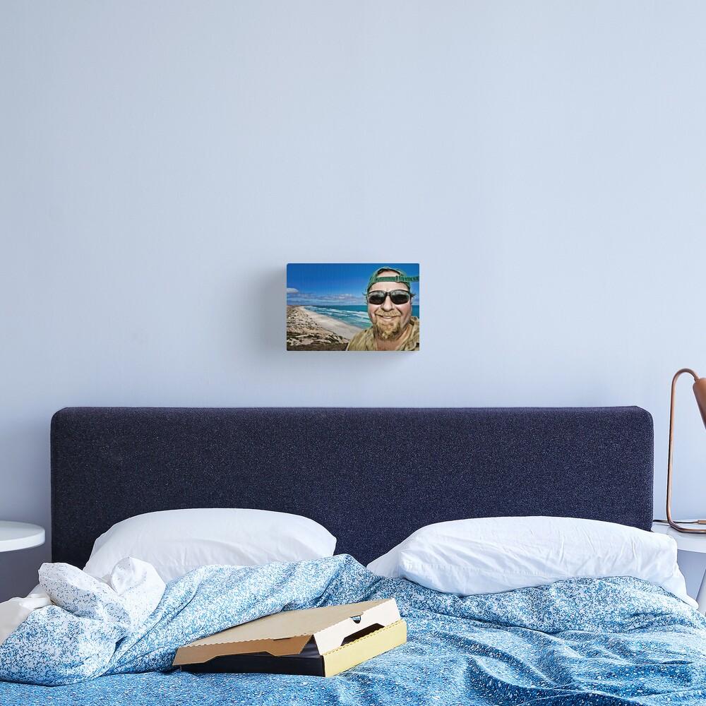 Beach Bum! Canvas Print