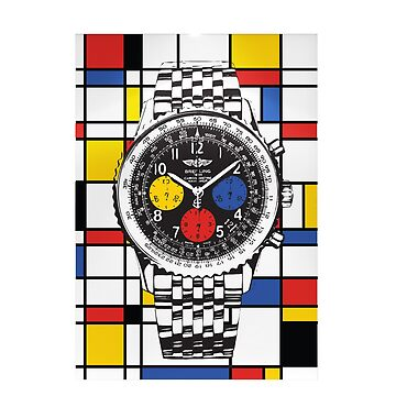 Breitling Mondrian by NiceDesigning