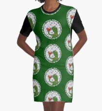 Kermit Sipping Tea (But that's none of my business) Graphic T-Shirt Dress