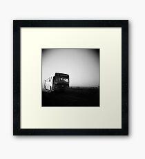 Dusty Ride Framed Print