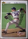 203 - Mike Henneman by Foob's Baseball Cards