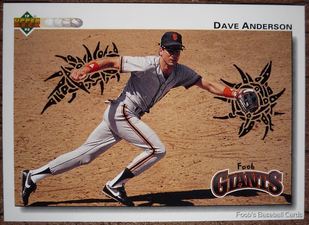 098 - Dave Anderson by Foob's Baseball Cards