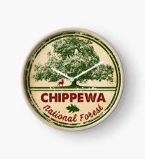Chippewa National Forest Clock