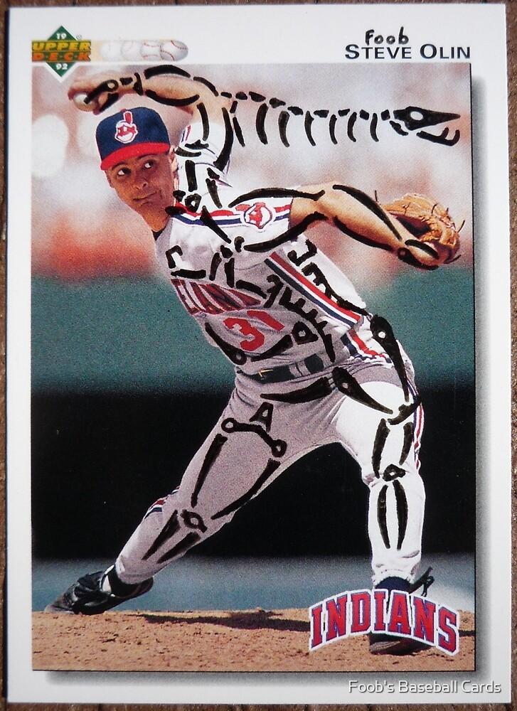 109 - Steve Olin by Foob's Baseball Cards