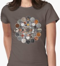 Rustic Geometry II Urban Lodge Mandala Women's Fitted T-Shirt