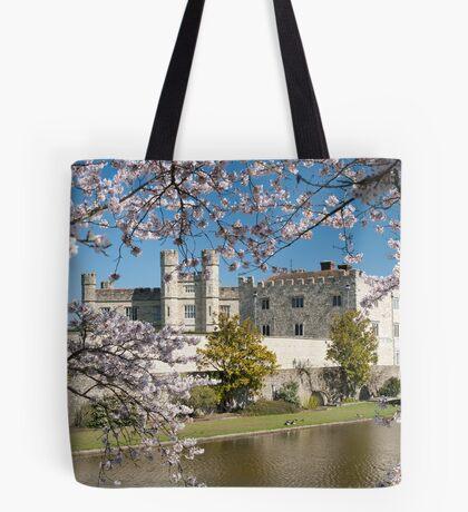 Easter Blossom: Leeds Castle. Kent UK Tote Bag
