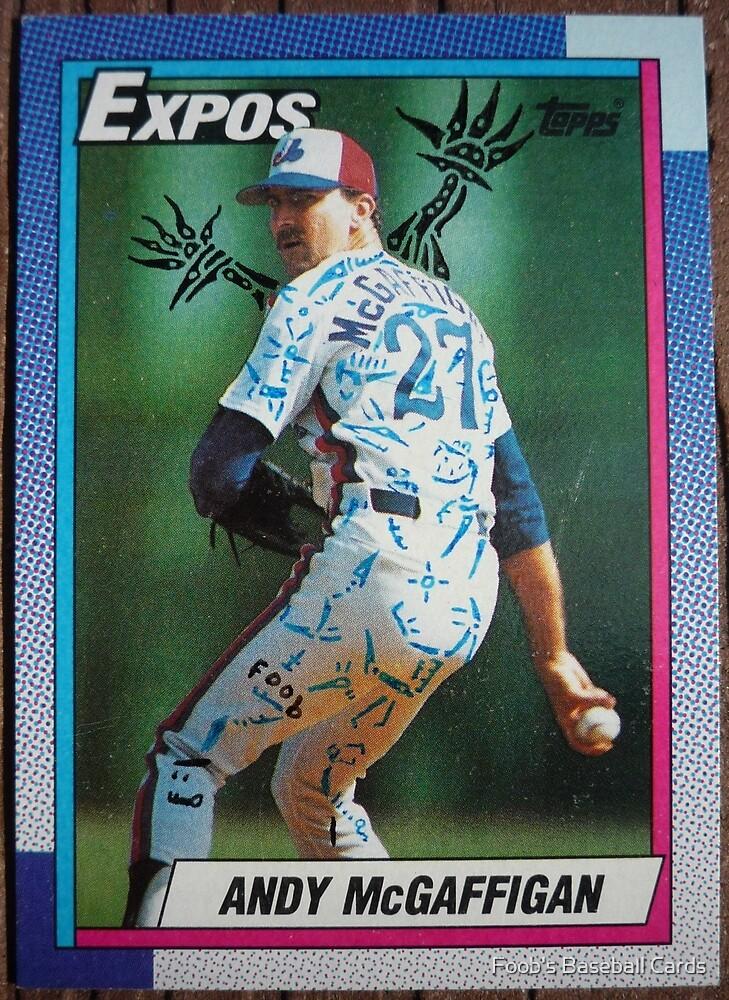117 - Andy McGaffigan by Foob's Baseball Cards