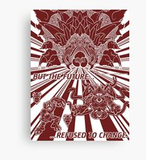 Lavos: All Forms (WHITE)... Canvas Print