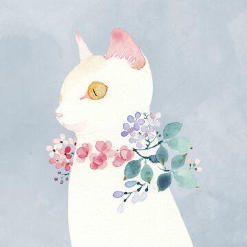 Kitty in Early Summer by jjsgarden