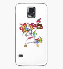 UNICORN DABBING - INDIANS Case/Skin for Samsung Galaxy