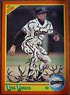 121 - Rick Parker by Foob's Baseball Cards