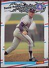 122 - David Palmer by Foob's Baseball Cards