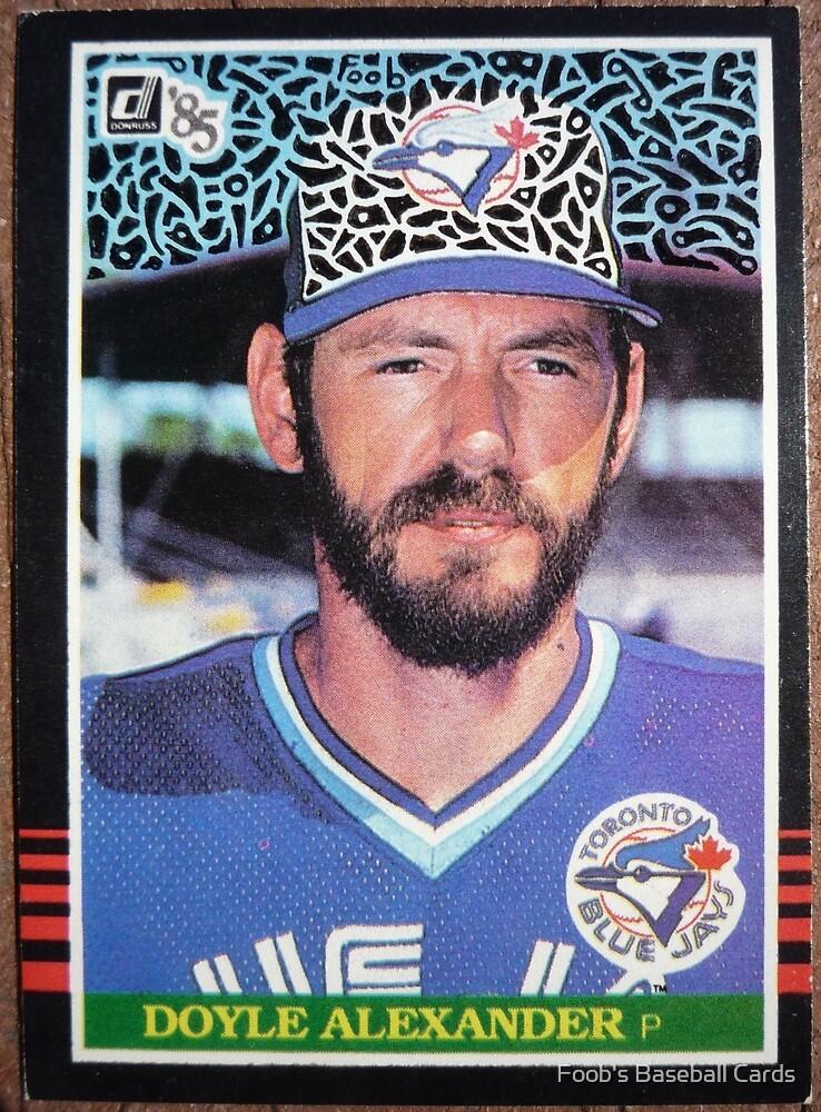 131 - Doyle Alexander by Foob's Baseball Cards