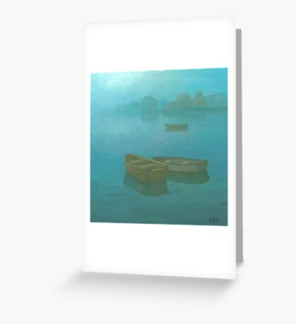 Blue Mist II Greeting Card