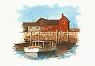 Old New England Dock by Kate Eller