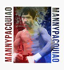 "Manny Pacquiao ""Pac-Man"" Photographic Print"