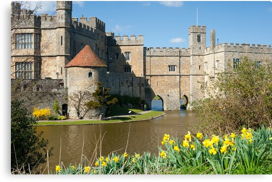 Leeds Castle Kent UK: Springtime Easter by DonDavisUK