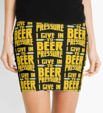 I Give in to Beer Pressure Mini Skirt