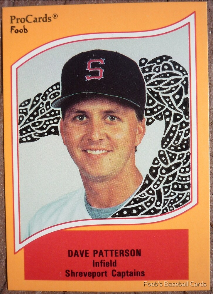 141 - Dave Patterson by Foob's Baseball Cards