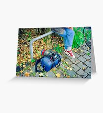 On Assignment - Equipment Greeting Card